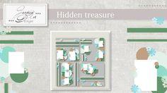 Hidden treasure templates by Jessica art-design