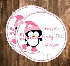 NEW  Penguin Favor Tags by mlf465 on Etsy, $6.00