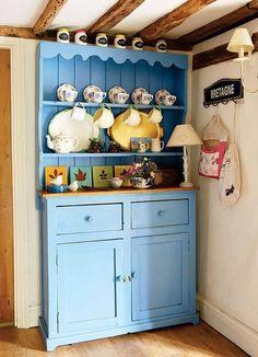 Traditional Irish Kitchen Dressers