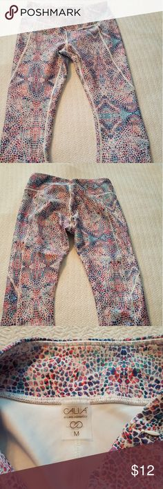 Calla leggings/tights Mosaic, reptilian patterned which would match blues, pinks, white... Calla Pants Leggings