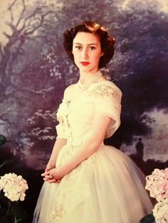 Princess Margaret in 1951 Elizabeth Ii Young, Queen Elizabeth Ii, Princess Diana Wedding, Royal Princess, Royal Monarchy, British Monarchy, Royal Life, Royal House, Princesa Margaret