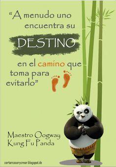 Enseñanzas del Maestro Oogway