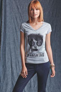 ¡Estampados con estilo! Power To The People, T Shirts For Women, Tops, Fashion, Style, Moda, Fashion Styles, Fashion Illustrations