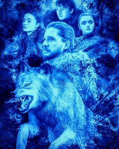 Game Of Thrones, House Stark, Type 3, Theater, Creativity, Facebook, Games, Photos, Movie Posters