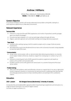 Resume Examples For Bpo Jobs  Resume Examples