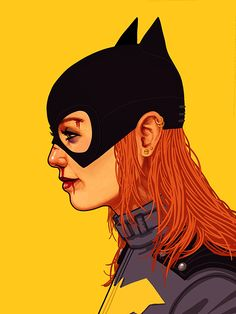 New Batgirl by Mike Mitchell