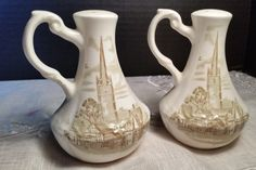 Church Steeple Olde Town Salt and Pepper by ShellysSelectSalvage
