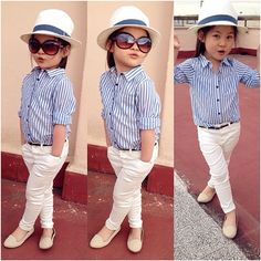 stylish kids in beautiful clothes Girls Fashion Clothes, Little Girl Fashion, Toddler Fashion, Kids Fashion, Cute Little Girls Outfits, Girls Fall Outfits, Toddler Outfits, African Dresses For Kids, Dresses Kids Girl