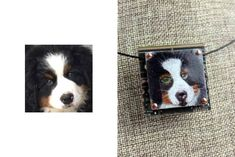 CUSTOM Hand-Illustrated Pet / Dog Pendant – Colored Pencil on Copper. Sweet little pendant with a one-of-a-kind drawing of your pet! What a great gift for yourself or for someone you love!