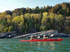 Kayak à Baie St-Paul, Rivière du Gouffre. katabatik.ca