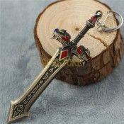 League of Legends LOL Sword Model Jewellery Pendant Keychain Key Bukcle
