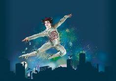 I saw Cirque de Soleil last night. I didn't see Cirque de Soleil last night enough.