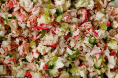 Surimi salade