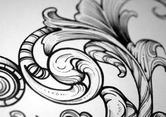 A tipografia de Greg Coulton para Sheen, em Londres |