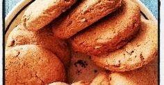 Orkiszowa Kuchnia Anny: Ciastka pełnoziarniste z pestkami dyni i płatkami orkiszowymi