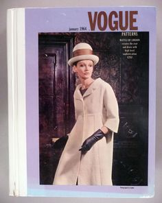 Vogue Patterns CATALOG - January, 1964 ~~ Large Store Counter Pattern Book