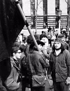 Manifestations contre la guerre au Vietnam, New York, ca. 1960.