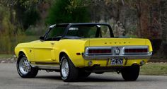Remarkable '68 Shelby Mustang GT500KR Convertible