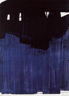 Pierre Soulages - Abstract Art - Informal Painting - Litho n° 23
