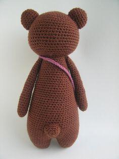 Urso de Crochê Receita de Amigurumi by LittleBearCrochets on Etsy