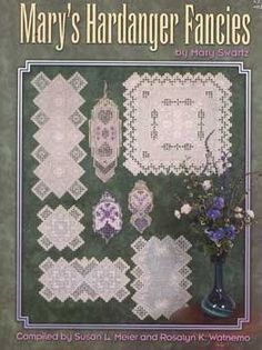 Mary's Hardanger Fancies - Adorable projects in Hardanger.  Some are small enough to be quick work.
