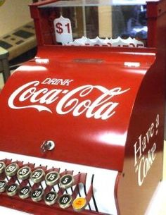 Old vintage antique 1940s Coca-Cola collectibles.