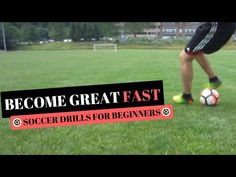 Best Soccer Skills For 8 to 10 Year Olds - Soccer Drills For Beginners Soccer Pro, Soccer Coaching, Soccer Tips, Soccer Games, Soccer Sports, Golf Tips, Soccer Practice, Soccer Skills, Athletic Training