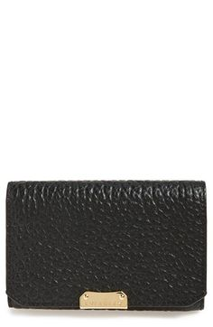 Burberry 'Wellington' Leather French Wallet in red available at #Nordstrom