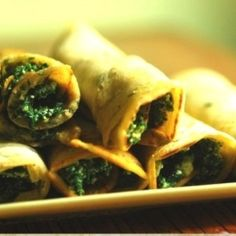 Spinach-ricotta pancakes by ALB