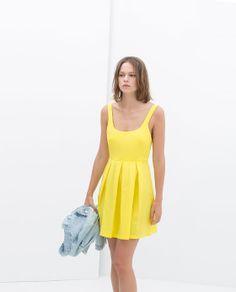 ZARA - TRAFALUC - PLEATED DRESS