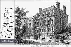 1878 - House at Harrow School, London