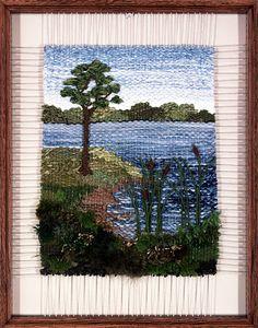 Weaving Loom Diy, Weaving Art, Tapestry Weaving, Rya Rug, Textile Fiber Art, Weaving Projects, Loom Bands, Weaving Techniques, Loom Patterns
