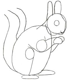 squirrel outline Google Search Baby G2 Quilt Ideas Pinterest