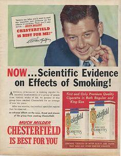 Crazy Old Cigarette Ads (Cigarettes) - ODDEE