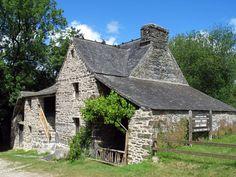 La maison Cornec à Saint-Rivoal dans les monts d'Arrée