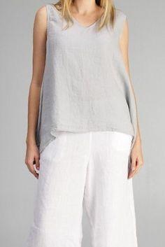 Tops ~ Hankercheif Linen - Your Online Linen Clothing Boutique