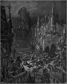Illustrations to Orlando Furioso / Gustave Doré Gustave Dore, University Of Adelaide, Library University, Dantes Inferno, Gothic Art, Old Art, Dark Art, Impressionism, Art History
