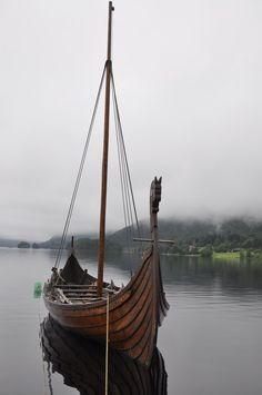 Vikings' ship by Dracona666STOCK.deviantart.com