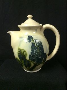 Handmade Pottery Teapot by TimesTinCup on Etsy, $35.00