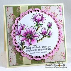 Inspired to Stamp: Planning for Magnolias!