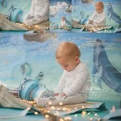 land of nod nautical peter pan magical background first birthday cakesmash01 (10)