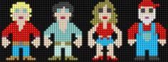 Dukes of Hazzard - Perler Beads (Lair of the Dork Horde: Lite Brite Brutes) Hama Beads Patterns, Beading Patterns, Perler Bead Art, Perler Beads, The Lost Sheep, Lite Brite, 8bit Art, Plastic Canvas Ornaments, The Shepherd