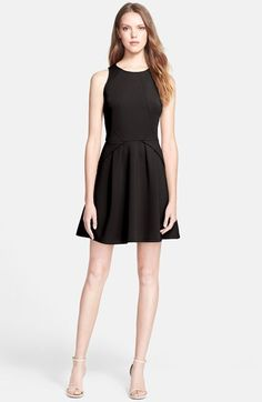 Ted Baker London Stretch Skater Dress available at #Nordstrom