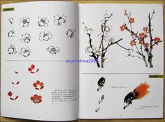 Collection Chinese Painting Book How to Paint Flower Bird Lingnan Style | eBay