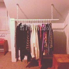 Diy clothing rack