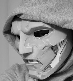 FF2 Doctor Doom Mask Progress by (Talyn), via Flickr