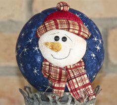 Boneco de Neve na bola
