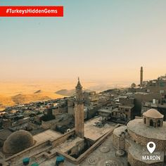 The historic city of Mardin has countless wonders, but it's the landscape beyond that's truly incredible. #TurkeysHiddenGems Photo: timuboy