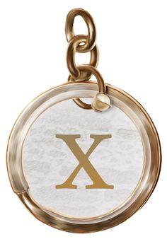Alfabeto letras em png pingentes dourados