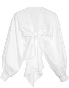 Johanna Ortiz M'O Exclusive Gabon Stretch Cotton Poplin Top